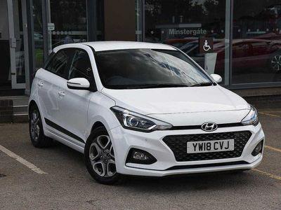 used Hyundai i20 1.2 Mpi Premium Nav 5Dr