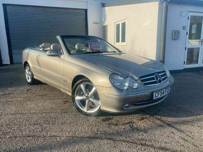 used Mercedes CLK240 CLK 2.6Elegance Cabriolet 2dr
