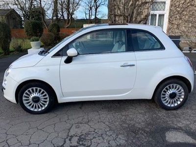 used Fiat 500 Hatchback 1.2 Lounge (Start Stop) 3d