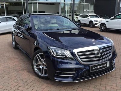 used Mercedes S350 S Class Diesel SaloonAMG Line Executive/Premium 4dr 9G-Tronic 2.9