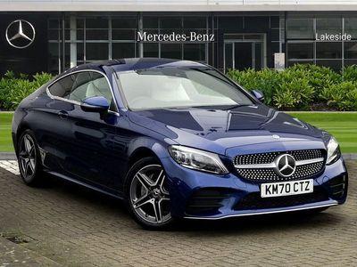 used Mercedes C200 C-ClassAMG Line Edition Premium 2dr 9G-Tronic