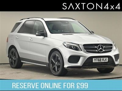 used Mercedes GLE250 D 4MATIC AMG NIGHT EDITION 5-Door