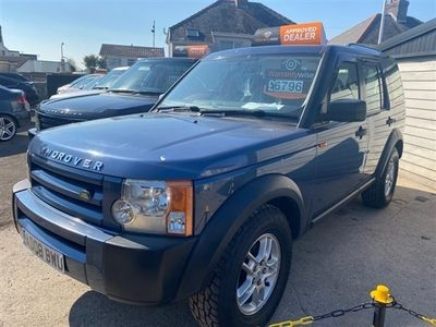 used Land Rover Discovery 2.7 3 TDV6 GS 5d 188 BHP