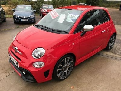 used Abarth 595 1.4 T-Jet 165 Turismo 3dr, LOW MILES, FULL LEATHER
