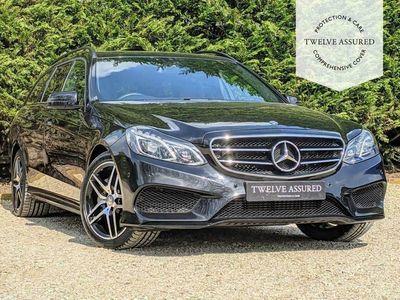 used Mercedes E350 E-CLASS 3.0BLUETEC AMG NIGHT EDITION 5d AUTO 255 BHP