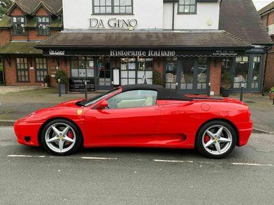 used Ferrari 360 3.6 Spider F1 2dr