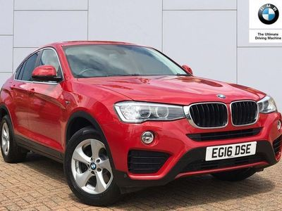used BMW X4 xDrive20d SE