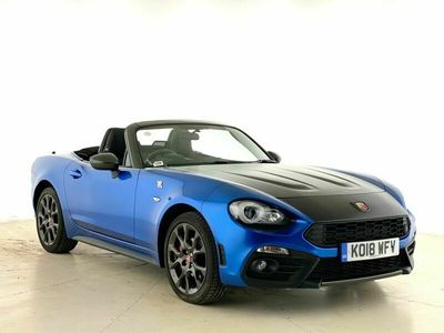used Abarth 124 Spider 1.4 T MultiAir 2dr Auto Roadster