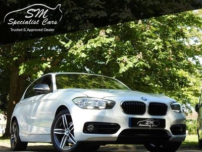 used BMW 118 1 SERIES 1.5 I SPORT 5d 134 BHP APPLY FOR FINANCE ON OUR WEBSITE