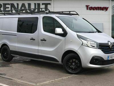 used Renault Trafic LL29 ENERGY dCi 145 Sport Nav Crew Van