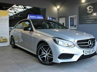 used Mercedes E350 E Class 3.0CDI BlueTEC AMG Night Edition (Premium Plus) 9G-Tronic Plus 4dr