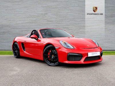 used Porsche Boxster Spyder