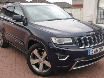 used Jeep Grand Cherokee Estate 3.0 CRD Overland (07/13-) 5d Auto