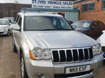 used Jeep Grand Cherokee 3.0 CRD V6 Limited 4x4 5dr FSH+AV 34-0 MPG+LOW PRICE !!! 2011