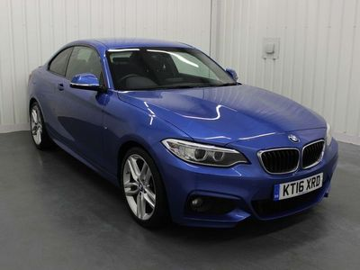 used BMW 220 2 Series 2.0 d M Sport (s/s) 2dr