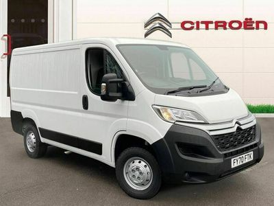 used Citroën Relay 2.2 BlueHDi H1 Van 120ps Enterprise