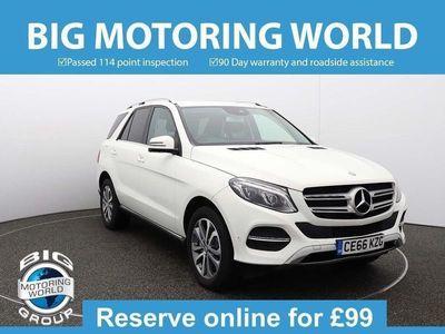 used Mercedes GLE250 GleD 4MATIC SPORT for sale | Big Motoring World