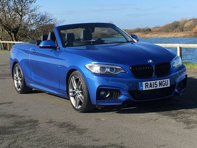 used BMW 228 2 SERIES i M Sport Convertible 2.0 2dr