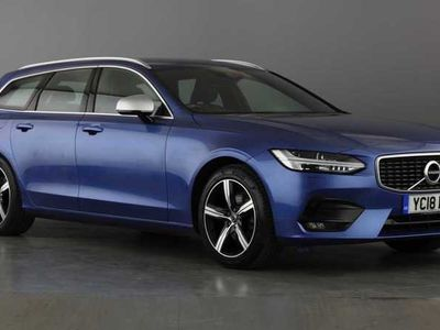 used Volvo V90 D4 R-Design Automatic ( Winter Pack, Adaptive Cruise Control, Navigation )