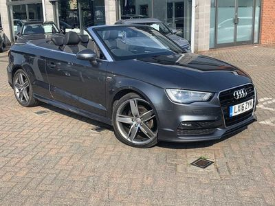 used Audi A3 Cabriolet S line Navigation 2.0 TDI 150 PS S tronic