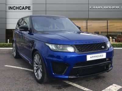 used Land Rover Range Rover Sport 5.0 V8 S/C Svr 5Dr Auto
