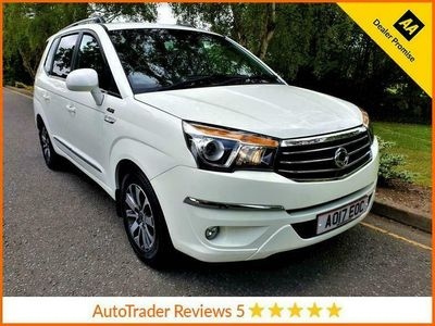 used Ssangyong Rodius TURISMO 2.2 ELX 5d 176 BHP,*AUTOMATIC*AWD*LEATHER*HISTORY*