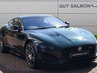 used Jaguar F-Type 5.0 P450 Supercharged V8 R-Dynamic 2dr Auto