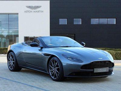 used Aston Martin DB11 CONVERTIBLE V8 Volante 2dr Touchtronic Auto