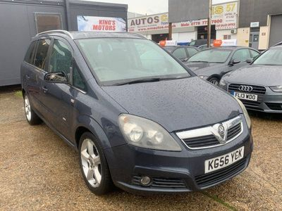 used Vauxhall Zafira 1.8 i 16v SRi 5dr