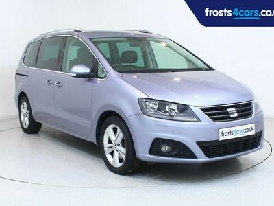 used Seat Alhambra 5dr 2.0TDi 150 CR Xcellence Automatic DSG Sat Nav Panoramic Glass Sunroof