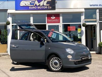 used Fiat 500 1.2 LOUNGE 3d 69 BHP PANORAMIC ROOF CAMBELT DONE