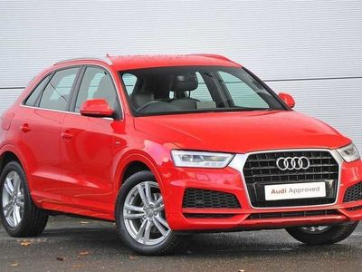 used Audi Q3 S Line Edition 1.4 Tfsi Cylinder On Demand 150 Ps S Tronic estate special editions
