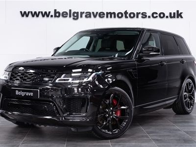 used Land Rover Range Rover Sport P400e AUTOBIOGRAPHY DYNAMIC PETROL PHEV TOP OF THE RANGE - VAT Q