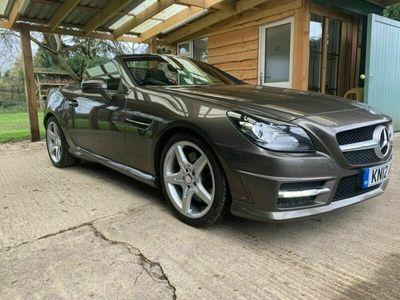 used Mercedes SLK200 SLK 1.8BlueEFFICIENCY AMG Sport 7G-Tronic Plus 2dr