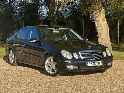 used Mercedes E320 E-Class 3.0CDI AVANTGARDE 4d 222 BHP ,SAT NAV,LEATHER,HEATED SEATS