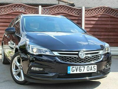 used Vauxhall Astra 1.4i Turbo SRi Nav Sports Tourer Auto (s/s) 5dr