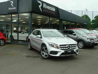 used Mercedes GLA250 Gla Class 2.0AMG Line 7G-DCT 4MATIC (s/s) 5dr