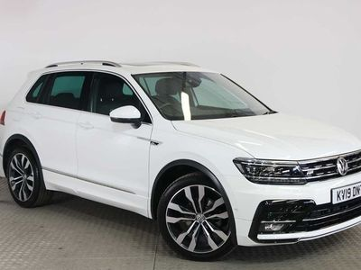 used VW Tiguan R-Line Tech 2.0 TDI 2WD 150PS 7-Speed DSG Auto