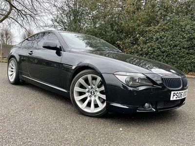 used BMW 650 6 Series 4.8 I SPORT 2d 363 BHP