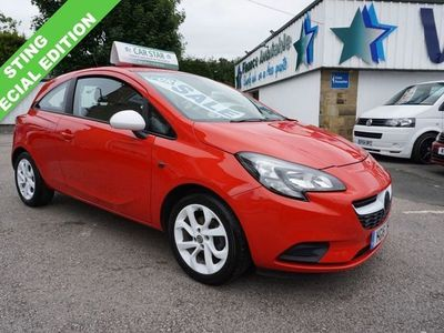 used Vauxhall Corsa 1.2 STING 3DR ( 2 OWNERS / JUST 40000 MILES ! )