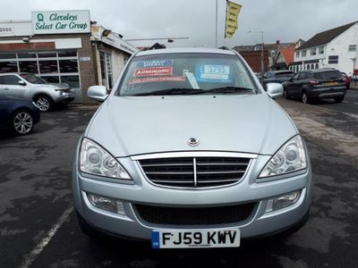 used Ssangyong Kyron 2.7 Diesel Sport Auto From £4