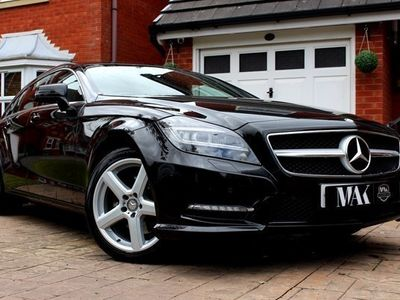 used Mercedes CLS250 CLSCDI BlueEFFICIENCY AMG Sport 5dr Tip Auto - FULL SERVICE