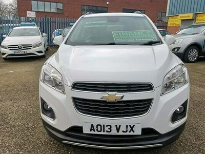 used Chevrolet Trax 1.4 LT 4X4 (s/s) 5dr