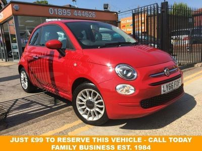 used Fiat 500 1.2 POP STAR 3d 69 BHP/ALLOYS/AIR CON/1 OWNER. AIR CON * LOW INSURANCE GROU