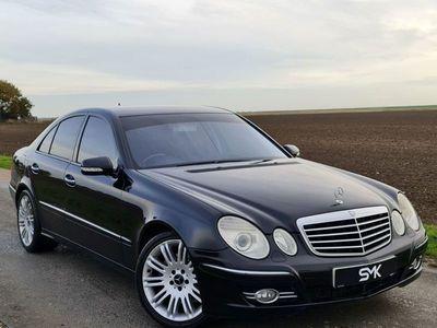 used Mercedes E280 E-Class 3.0LCDI SPORT 4d AUTO 187 BHP CRUISE CONTROL