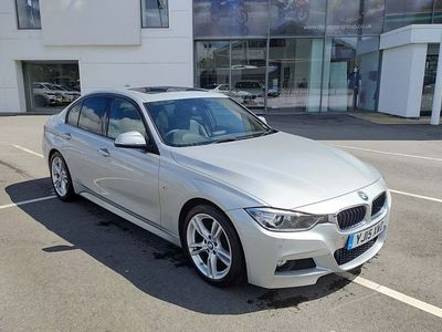 used BMW 320 3 Series D M Sport 4Dr Step Auto [Business Media]