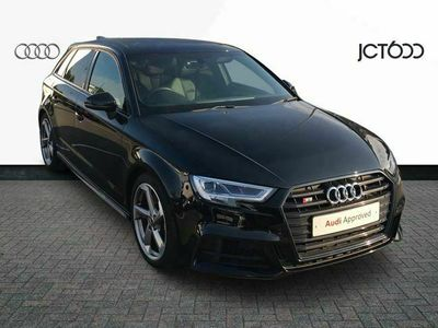 used Audi A3 Sportback S3 Sportback Black Edition 2.0 TFSI quattro 310 PS S tronic special editions