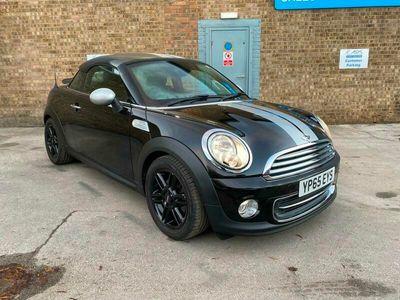 used Mini Cooper Coupé Coupe 1.6 3dr 2015 black
