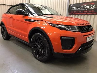 used Land Rover Range Rover evoque 2.0 TD4 HSE DYNAMIC LUX 3d 177 BHP