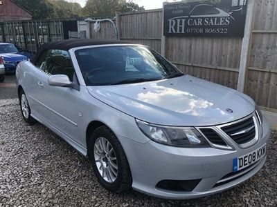 used Saab 9-3 Convertible 1.8t Linear SE 2d (07)